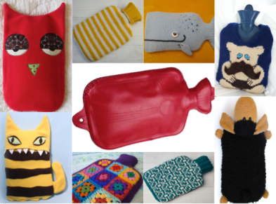hot water bottle cozies