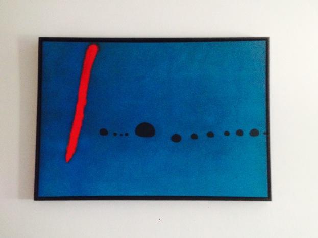 """""""Blue II"""" by Joan Miro"""