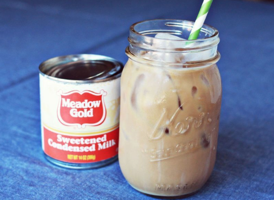 Get this Homemade Iced Coffee recipe from A Beautiful Mess (click on photo for site)