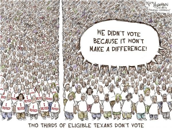 We Didn't Vote
